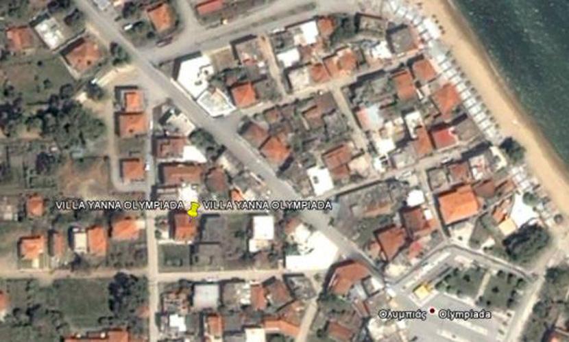Χάρτης Villa Yanna